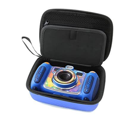 CASEMATIX Pink Kids Camera Case for VTech Kidizoom Camera Pix Duo Twist , Includes Case Only: Toys & Games