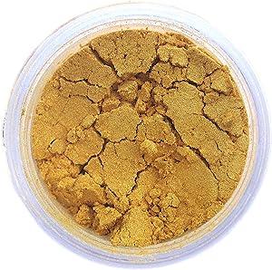 Pharaoh's Gold Edible Luster Dust | Edible Powder & Dust | Food Grade Luster Dust for Decorating, Fondant, Baking | Polvo Matizador | Cakes, Vegan Paint, Dust | Sunflower Sugar Art …