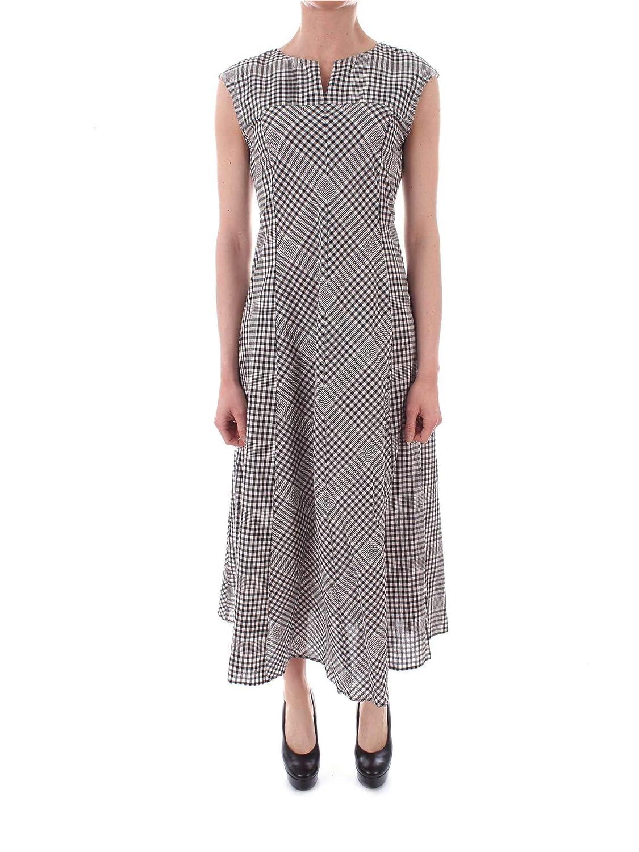 Emme Marella Women's 52211994GREY Black Cotton Dress
