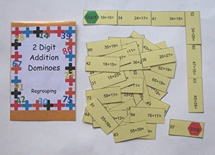 Amazon.com: Teacher Created Math Center Resource Game 2 ...