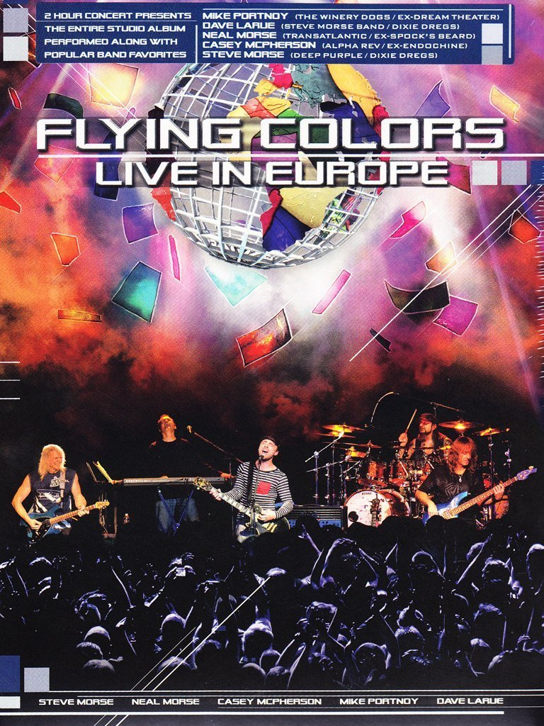 DVD : Flying Colors - Live In Europe (DVD)