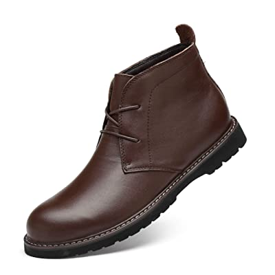 A'erma Men's Chukka Boots Oxford Ankle Dress Boots Shoes | Shoes