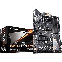 Gigabyte B450 AORUS Elite AMD Ryzen Gen3 AM4 ATX Motherboard 4xDDR4 4xPCIE 2xM.2 DVI HDMI RAID GbE LAN 6xSATA 6xUSB3.1…
