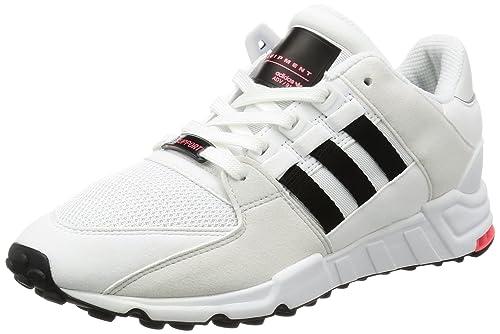 54c96de5664bc6 adidas Herren EQT Support RF Sneaker Weiß (Vintage Core Black FTWR White)