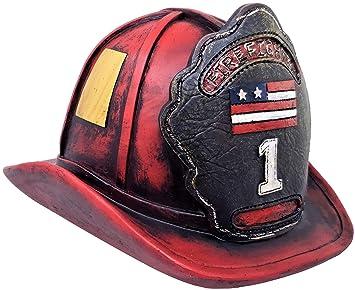 Amazon.com: Casco de bombero Piggy Banco – Un Regalo ...