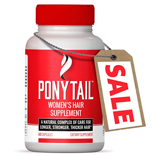 Product thumbnail for Ponytail Women's Hair Supplement