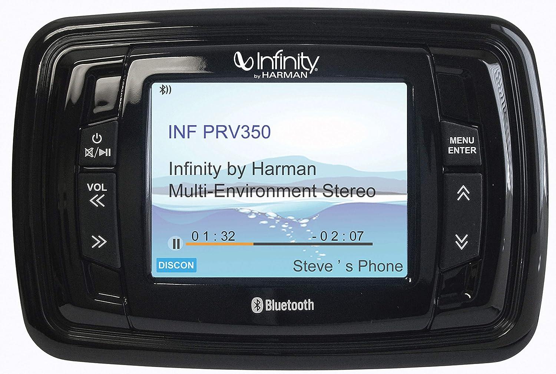 Bluetooth 200 Watt Infinity PRV250 Boat Radio Stereo