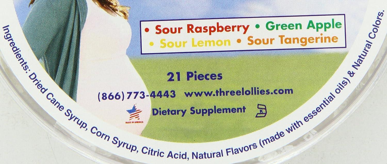 21/fils Trois Sucettes Preggie Pop Chute assortis pour Matin chewing-gums
