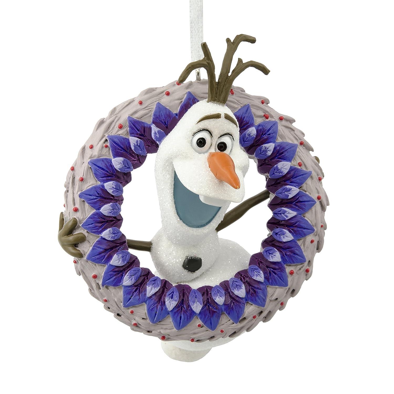 Hallmark Christmas Ornament Disney Frozen Adventure Olaf with Wreath ...