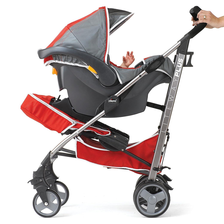 Amazon.com: Chicco Liteway Plus carriola, Plateado: Baby