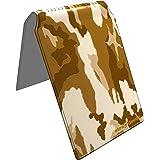 Stray Decor (Desert Camo) Étui à Cartes / Porte-Cartes pour Titres de Transport, Passe d'autobus, Cartes de Crédit, Navigo Pass, Passe Navigo et Moneo
