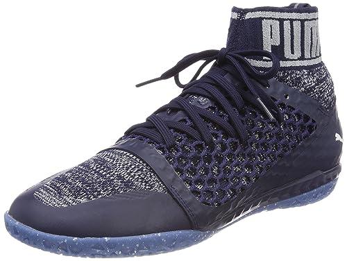 Puma 365 Evoknit Netfit CT, Zapatillas de Fútbol Americano Para Hombre, Azul White-Peacoat-Quarry, 48.5 EU amazon-shoes el-azul Botas de fútbol