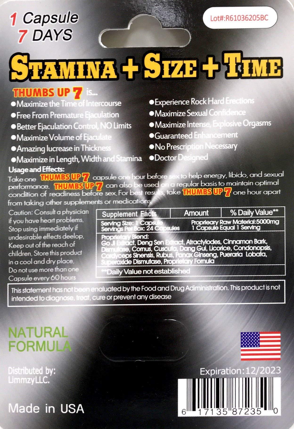New Burro EN Primavera 30000 All Natural Male Enhancement Sex 5 Pills Thumbs Up 7 Red 70K 1 Pill by SUM MARKETING LLC