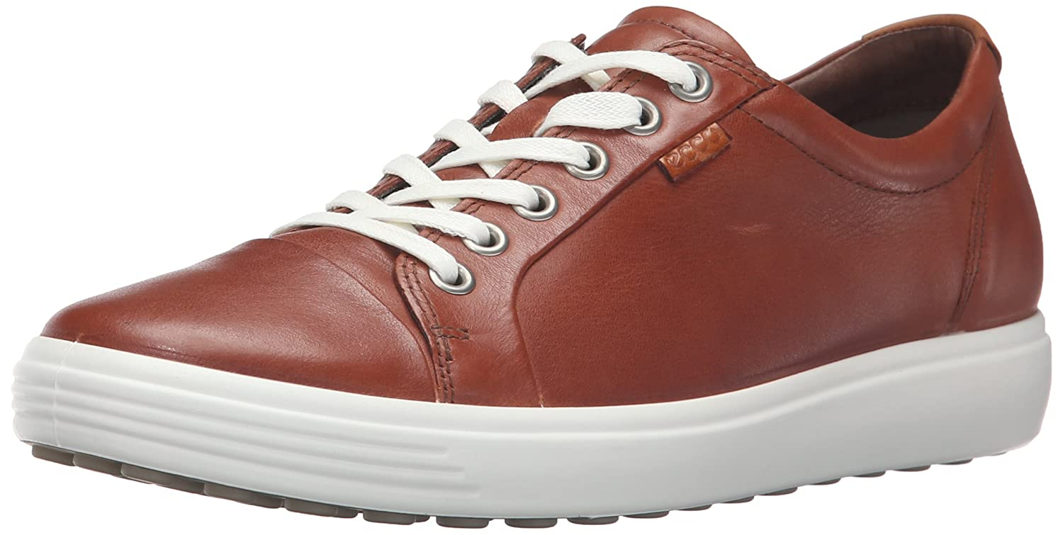 ECCO Women's Soft 7 Fashion Sneaker, B015XQ6W7A 43 EU/12-12.5 M US|Mahogany