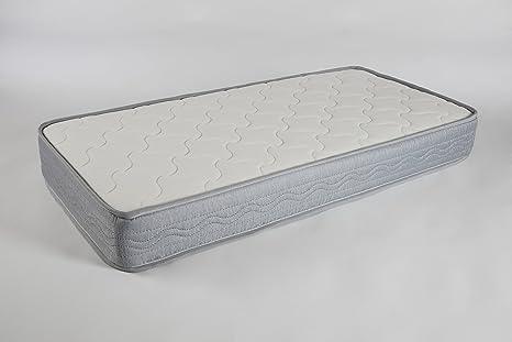 Seasons-Colchón de cuna muelles y fibra de coco. Antiahogo con malla 3D , para cuna 60x120 cms: Amazon.es: Bebé