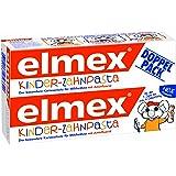 elmex Kinder-Zahnpasta, 0-6 Jahre, 4er Doppelpack (4 x 100 ml)