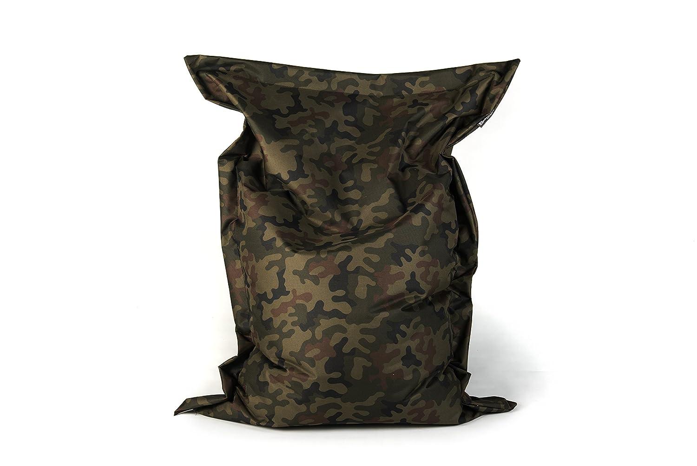 Bubibag Sitzsack Rechteck Größe 180x145 Cm Camouflage Amazonde