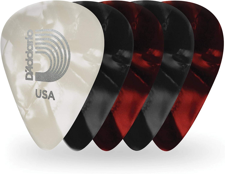 D'Addario Accessories Pearl Celluloid Guitar Picks