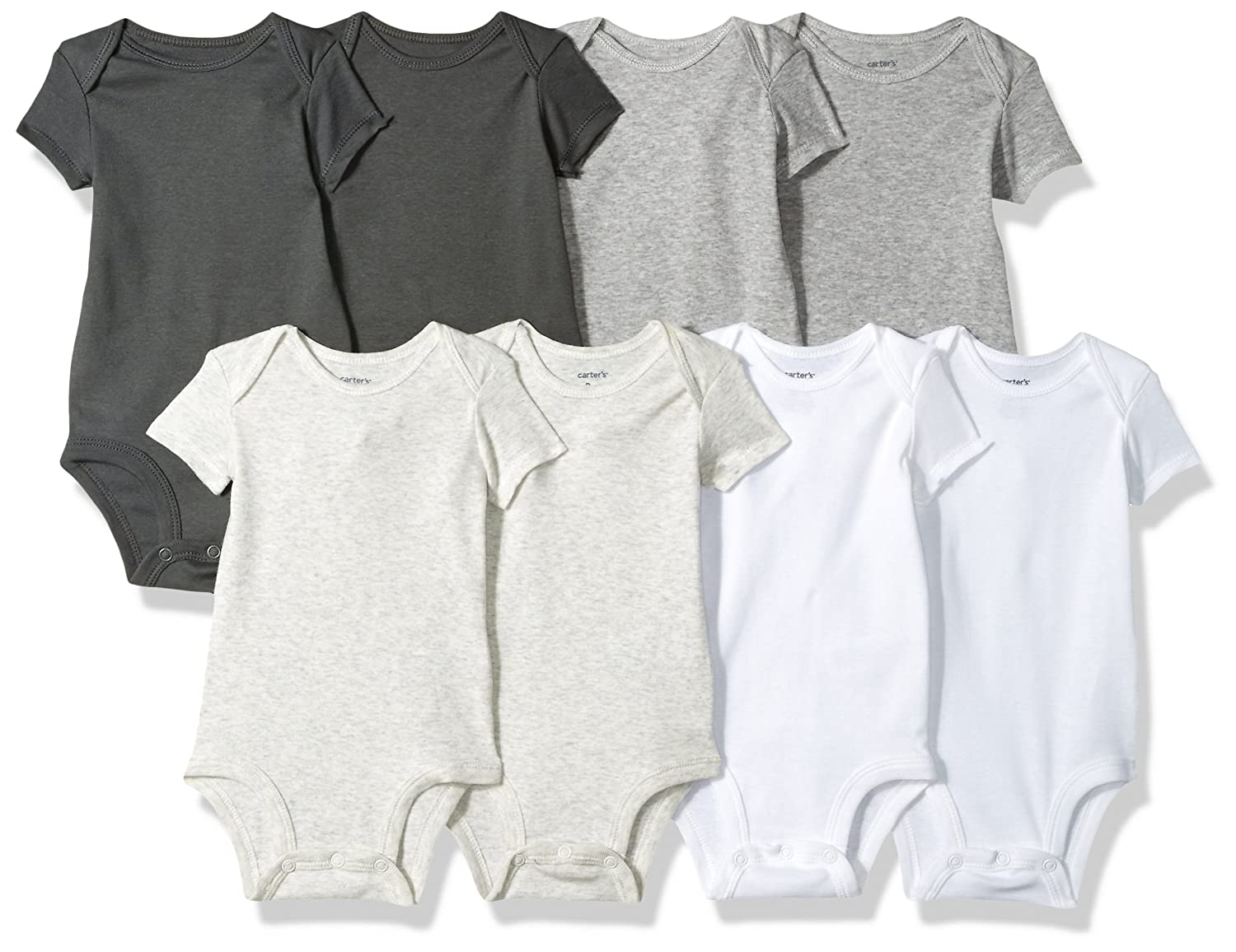 Carter's Baby Boys' 8 Pack Short-Sleeve Bodysuits Carters KBC