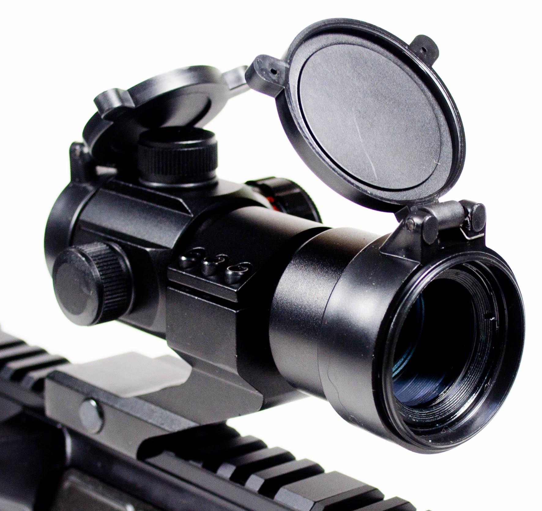 Ozark Armament Rhino Red Dot Sight - Green Dot Sight - Includes Picatinny Mount - Co-Witness - Reflex Rifle Sight by OZARK ARMAMENT