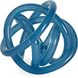 Now House by Jonathan Adler Glass Knot, Blue