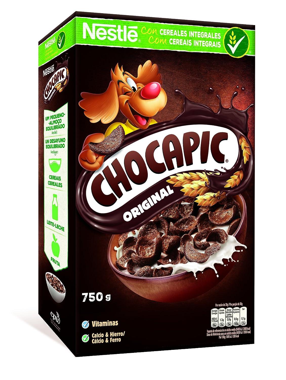 Nestlé Chocapic Cereales Desayuno 750G: Amazon.es: Alimentación y bebidas