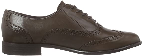 Virus Women's 25954 Brogue Lace-Up Half Shoe Brown Size: 8: Amazon.co.uk:  Shoes & Bags