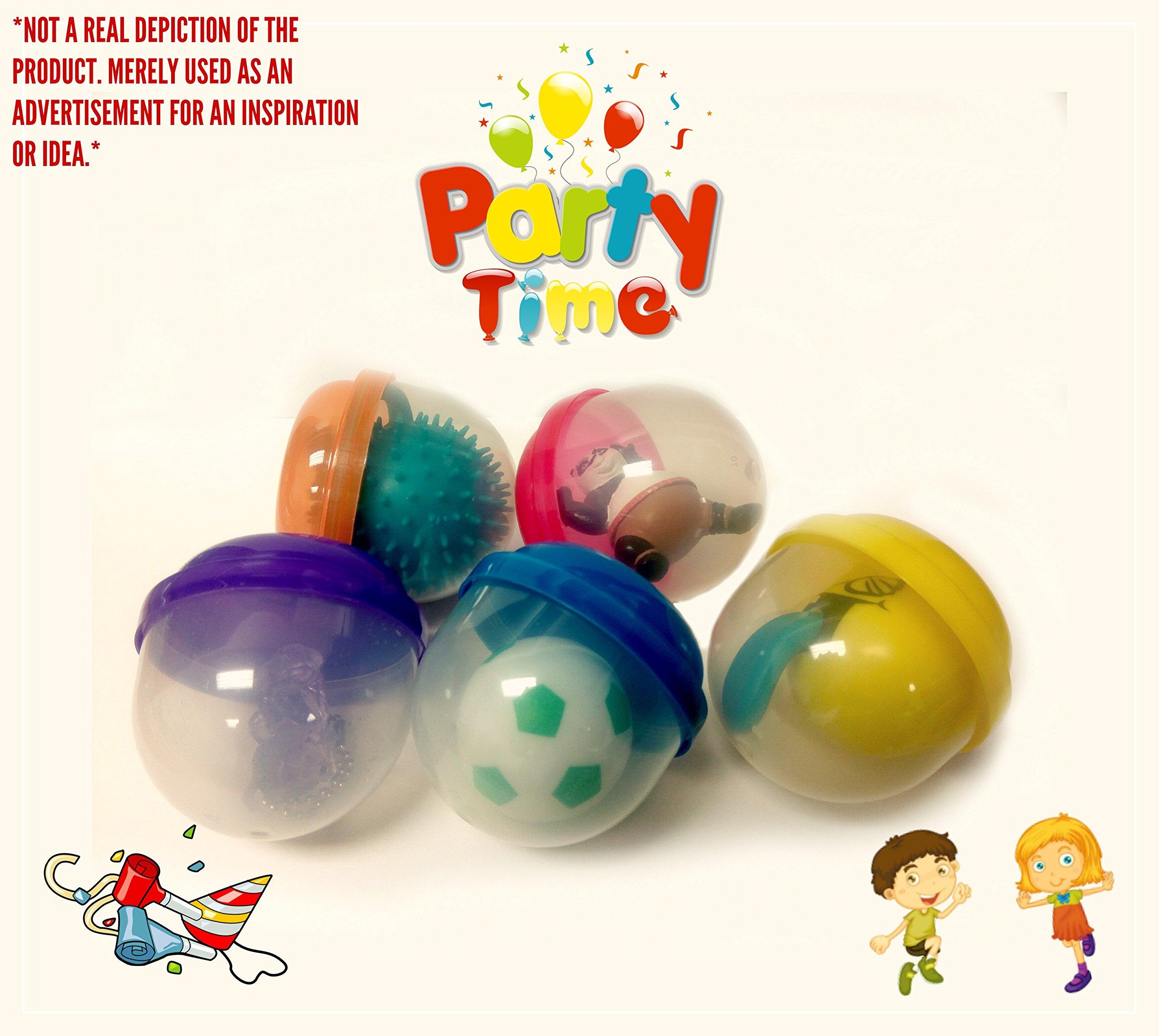 EMPTY 2'' Acorn Capsule Solid Colors (500 count) + Mystery Bonus