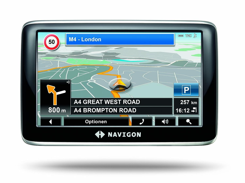 Navigon 4350 max - Navegador GPS con mapas de Europa ((4.3 pulgadas), Bluetooth): Amazon.es: Electrónica