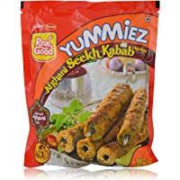 Yummiez Ready to Cook - Chicken Afghani Seek Kabab, 250g Pack
