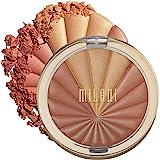Milani Color Harmony Blush Palette - Bronze Burst (0.3 Ounce) Vegan, Cruelty-Free Powder Blush Compact - Shape, Contour…