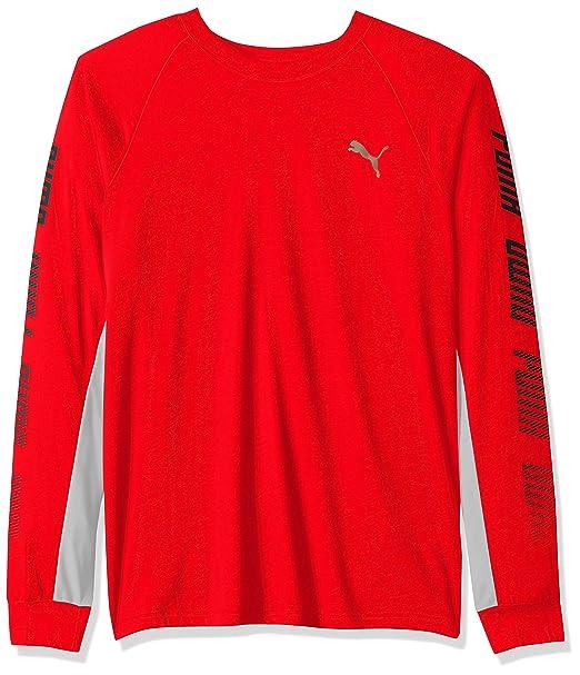 0f2adf9a PUMA Mens A.c.e. Long Sleeve Tee T-Shirt: Amazon.ca: Clothing ...