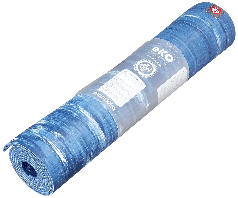 Manduka eKO – Esterilla de yoga y pilates yoga mat, lluvia Check, 5 mm, 71