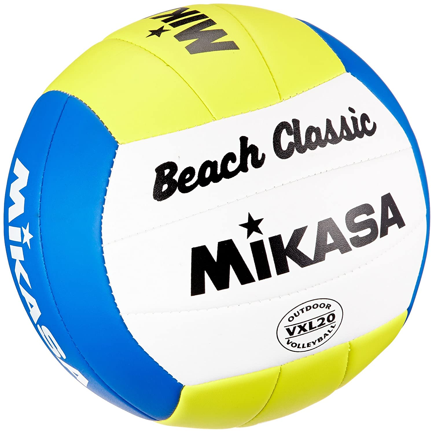 Mikasa Beach Classic - Pelota de volley playa (talla 5): Amazon.es ...