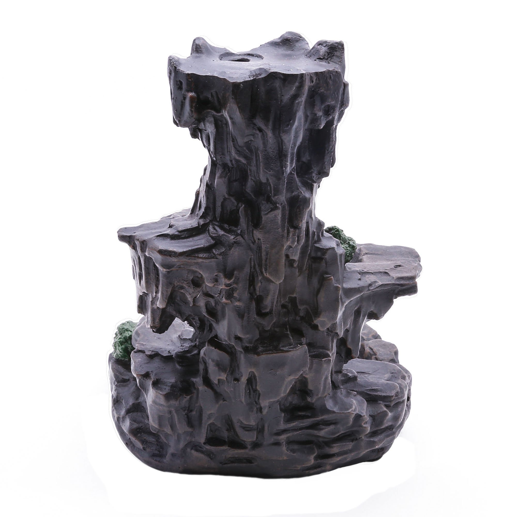 MAYMII Zen Garden Mountain Stream Backflow Handcrafted Resin Incense Holder Burner, Aromatherapy Furnace Diffuser for Home Decor by MAYMII (Image #5)