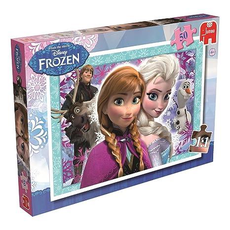 amazon com disney frozen 50 piece jigsaw puzzle toys games