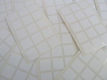 Paquet de mm carré papier blanc étiquettes adhésif
