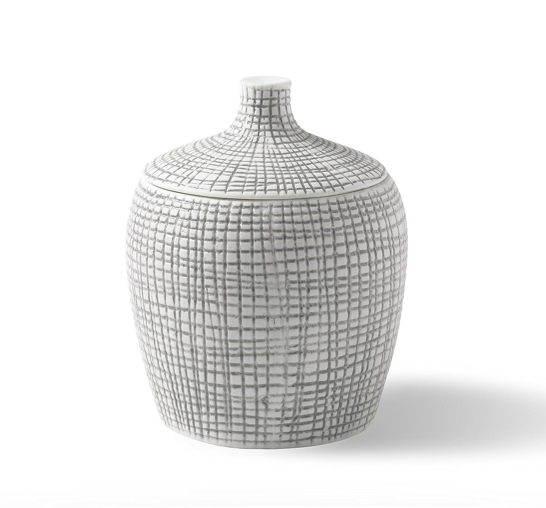 Kassatex ARF-CJ Raffia Cotton Jar