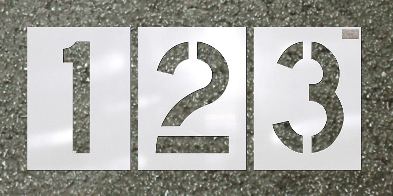 """CH Hanson 2/"""" Number Stencils"""