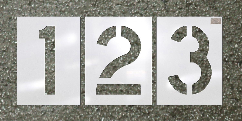 C.H. Hanson - Number Kit 12 Pc. - Stencil Font Size 12 X 9 CH Hanson 4336890702