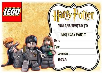 Harry Potter Geburtstag Party Ladt Lego Rahmen Design Party Deko