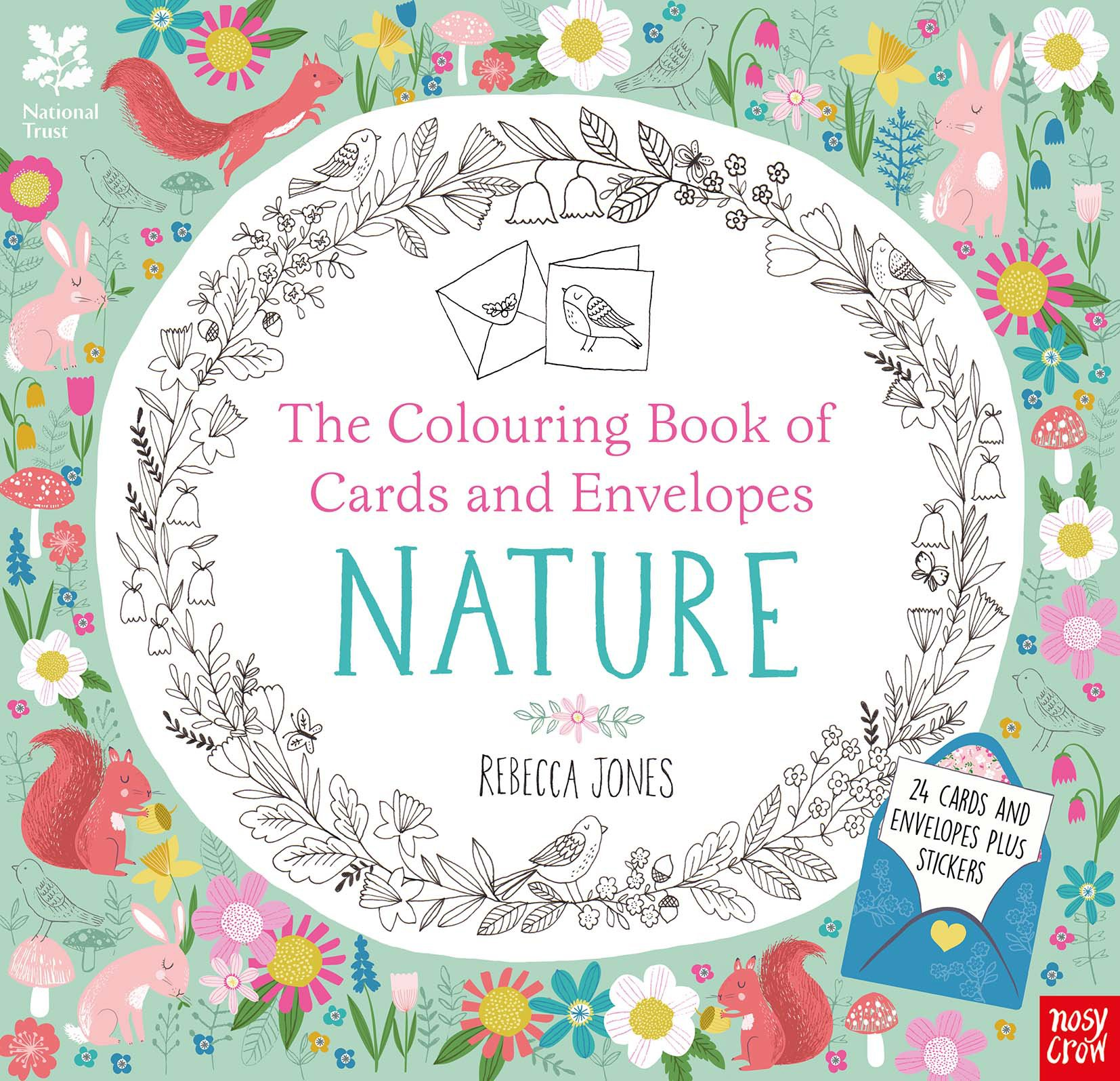 National trust the colouring book of cards and envelopes nature national trust the colouring book of cards and envelopes nature colouring books of cards and envelopes amazon rebecca jones 9780857637253 m4hsunfo