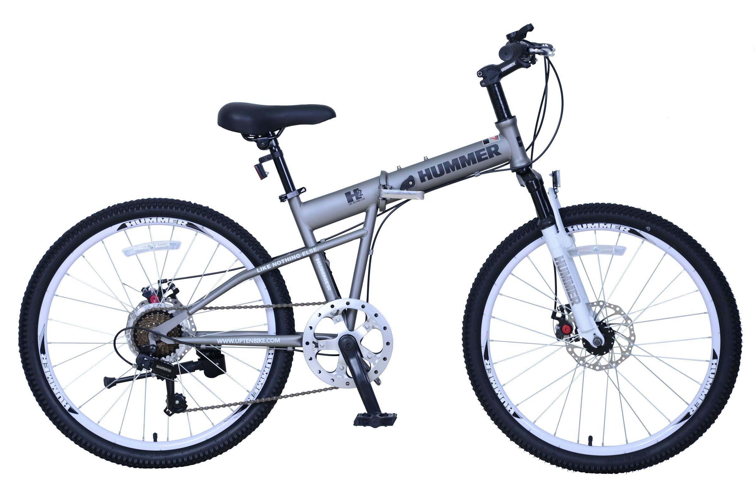 Upten Hummer folding bicycle mountain bike Price in UAE ...   hummer folding bikes