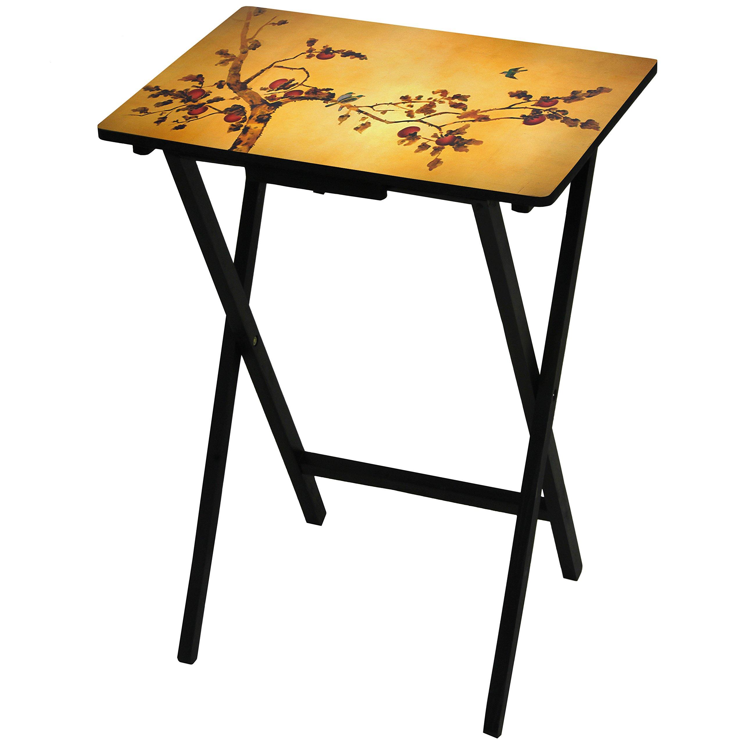 Oriental Furniture Plum Blossom TV Tray