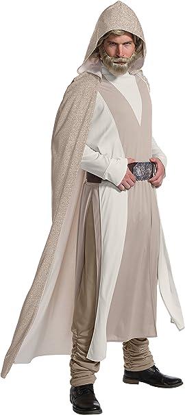 Star Wars Episode VIII - The Last Jedi Deluxe Mens Luke Skywalker Costume