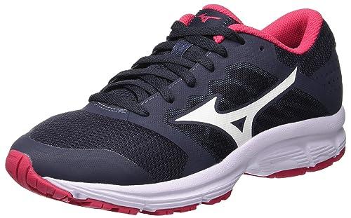 Mizuno Ezrun LX, Zapatillas de Running para Mujer, Azul (Ombreblue/White/Azalea 02), 36.5 EU: Amazon.es: Zapatos y complementos