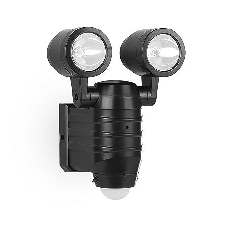 Smartwares FSL-80113 Foco, 2 bombillas LED de 4 W, Sensor de movimiento