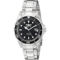 Invicta Men's Analogue Quarz Watch with Stainless Steel Strap 8932