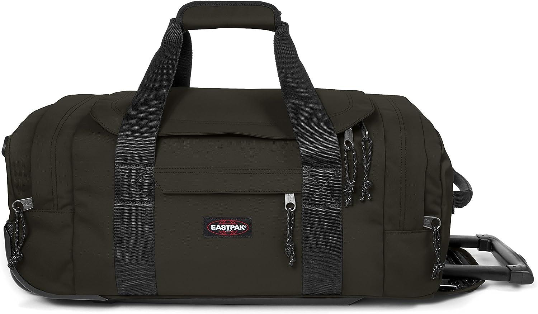 Eastpak Leatherface S Bolsa de Viaje, 56 cm, 38 litros, Verde (Bush Khaki)