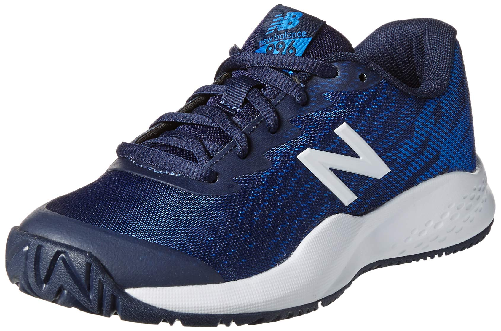 New Balance Boys' Kid's 996v3 Hard Court Running Shoe, Pigment Blue, 13.5 W US Little